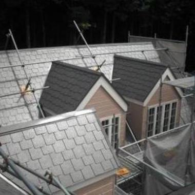 屋根の腐食部分を張替えて塗装の施工後写真(0枚目)