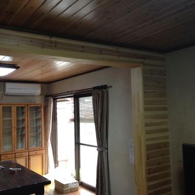 うきは市✕天井壁紙張替え✕新築のような仕上がりにする工事の施工後写真(0枚目)