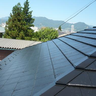 松本市✕屋根塗装✕綺麗な仕上がりの工事の施工後写真(0枚目)