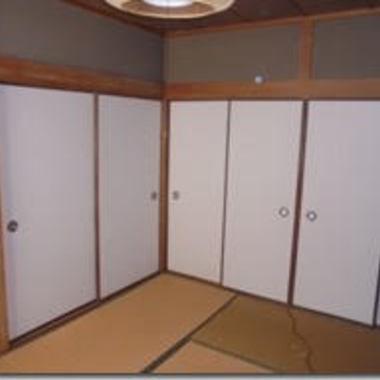 室内ドア2つ