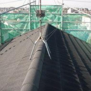 屋根瓦 葺き替え工事施工後