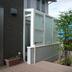 ガーデンルームとウッドデッキ2