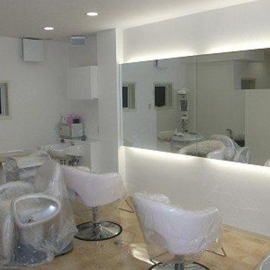 美容院内装工事 施工後