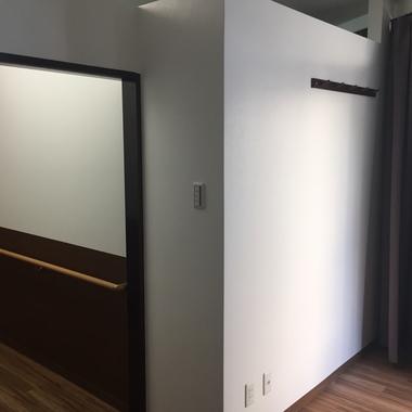 内装工事完了 壁