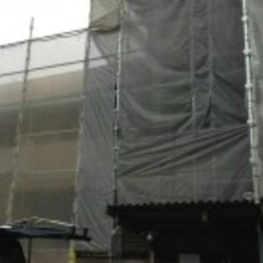 アパート 改修工事中2