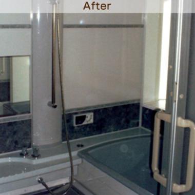 リフォームした浴室とお風呂