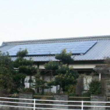 太陽光発電施工完了 別視点