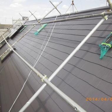 屋根メンテナンス施工後