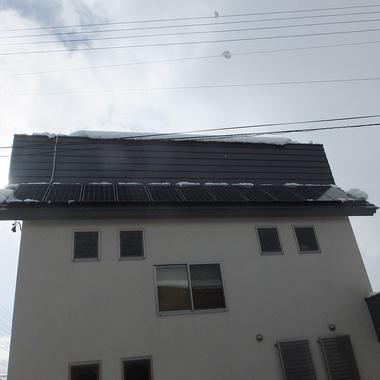 融雪太陽光発電 カンキョーE-DAN 施工後2