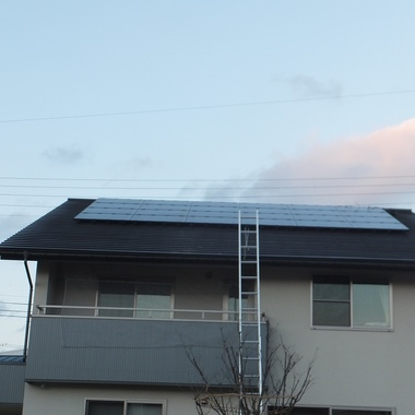 融雪太陽光発電 カンキョーE-DAN 施工後3