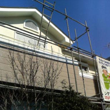 耐久性のある塗装工事 施工後