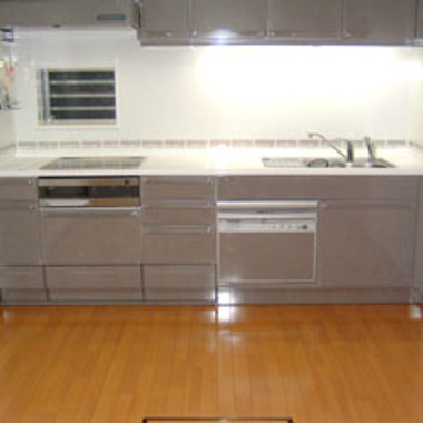 お手入れ簡単システムキッチン 施工後