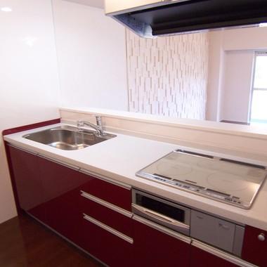 広々リビングで上質な空間 キッチン