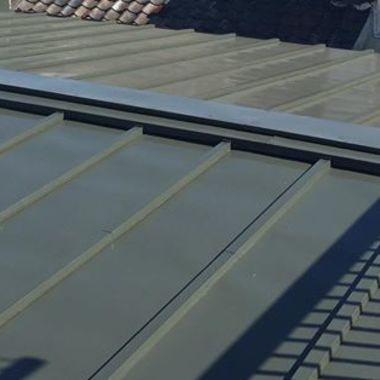 荒川区 屋根防水塗装工事 後 アップ