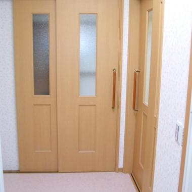 リノベーション施工後 ドア