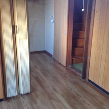 廊下の床張替え後