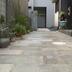 板石敷きのアップ画像