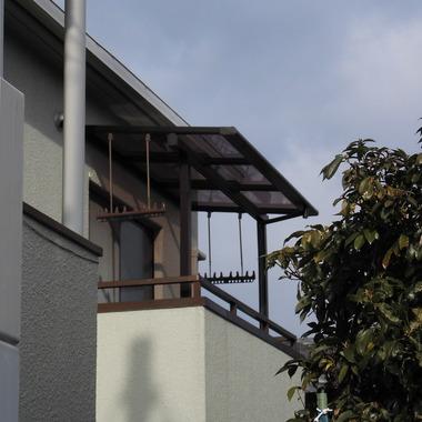 テラス屋根の設置 全体画像