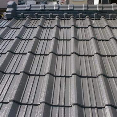 屋根シリコン塗装