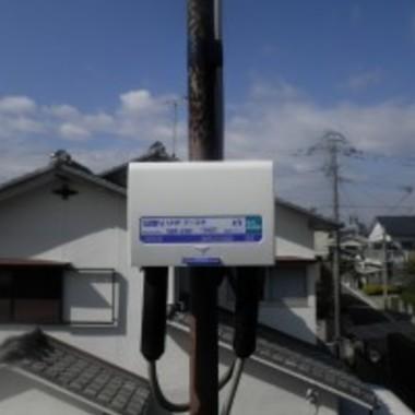 テレビアンテナ・増幅器取替工事
