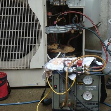 冷媒フロン 回収