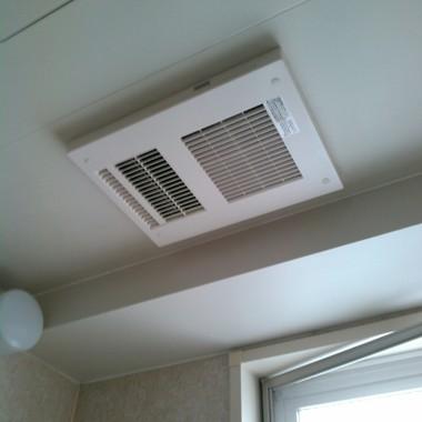 バス乾燥暖房機交換後