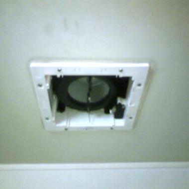 浴室換気扇交換 後