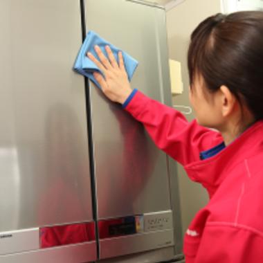 冷蔵庫 クリーニング 途中