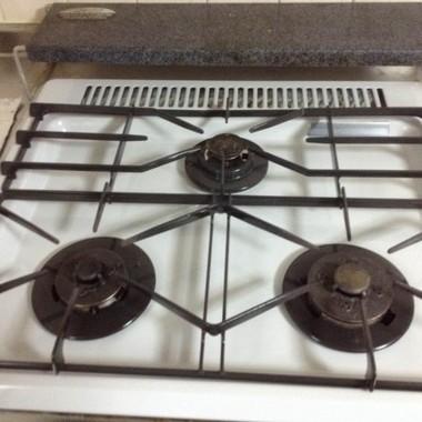 キッチンクリーニング ガスコンロ洗浄後