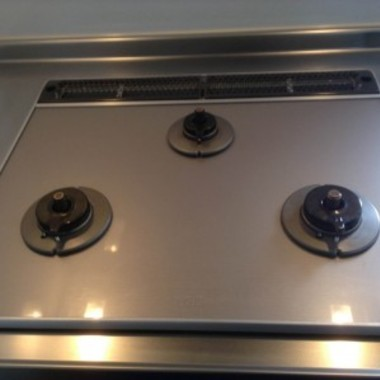 ガスコンロ 交換 | キッチンコンロクリーニング 後