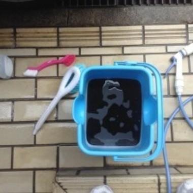 エアコンクリーニング後の汚れ