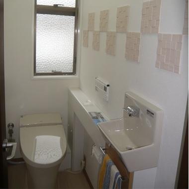 トイレの便器 様式リフォーム 後