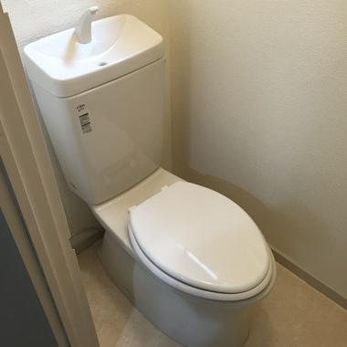 トイレ交換 後