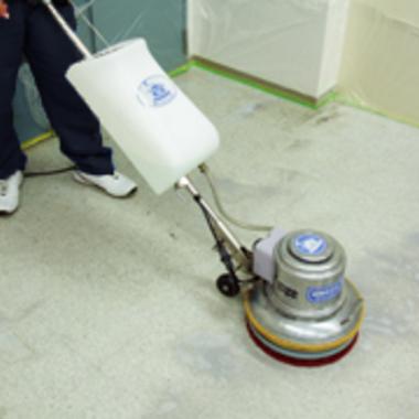 フロアクリーニング 洗浄 ワックス仕上げ