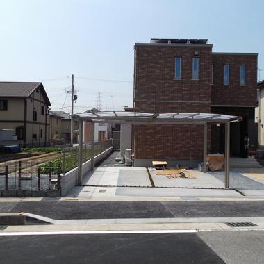 戸建住宅 外構工事 完了