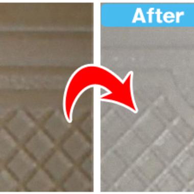 壁紙 洗浄前洗浄後比較写真