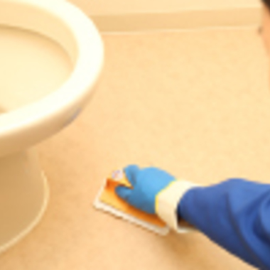トイレ 床清掃