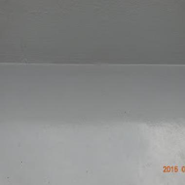 水漏れ・つまり | 防水ウレタン塗装後 屋上床
