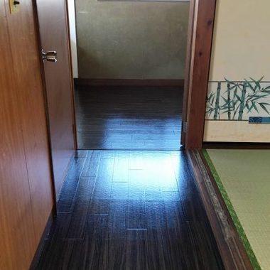 畳・床 リフォーム完了 廊下
