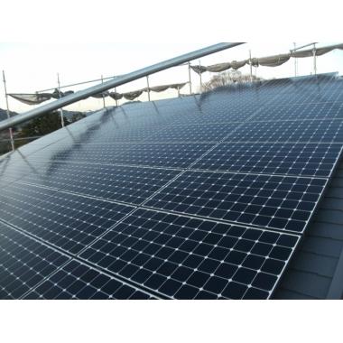 浜松市南区✕太陽光発電設置✕節電につながる工事の施工後写真(0枚目)