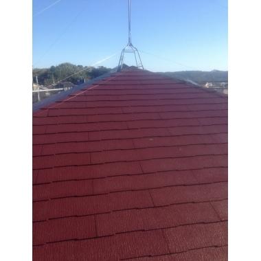 榛原郡吉田町✕屋根工事✕素敵な仕上がりの工事の施工後写真(1枚目)