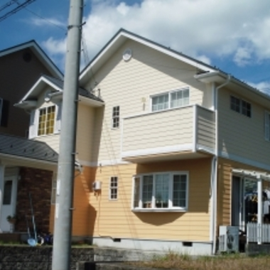 屋根 外壁の塗装後