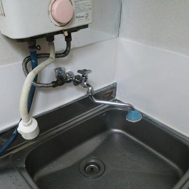 キッチンの水漏れ修理後