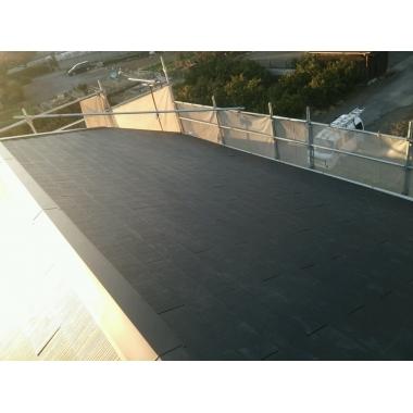 静岡市清水区✕屋根工事✕綺麗な仕上がりの工事の施工後写真(0枚目)