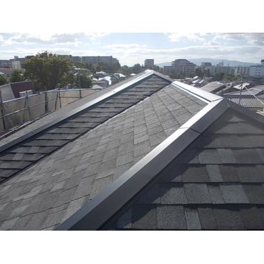 静岡市葵区✕屋根工事✕丁寧な仕上がりの工事の施工後写真(0枚目)
