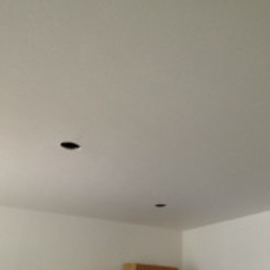 天井補修工事後 アップ画像