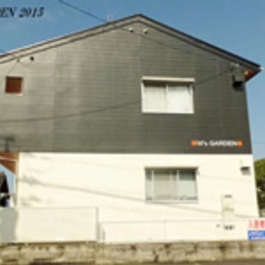 アパート外壁塗装完了