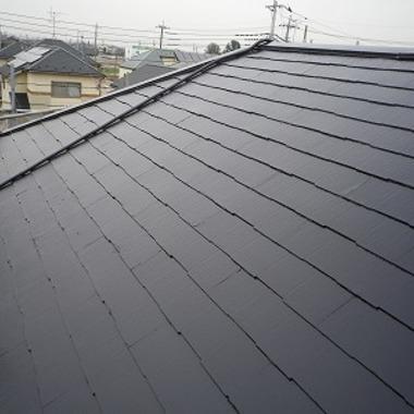 外壁・屋根塗装完了 屋根