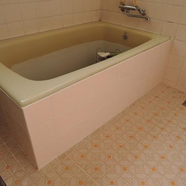 浴室タイル張替え完了
