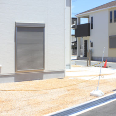 車庫設置 住宅横スペース